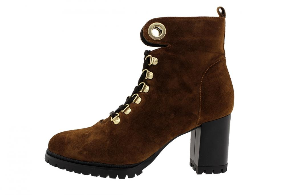 Ankle Boot Tan Suede 195431