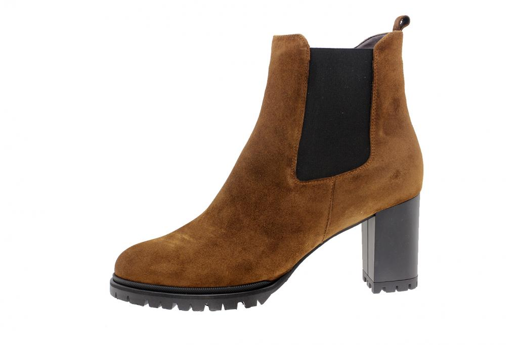 Ankle Boot Tan Suede 195432