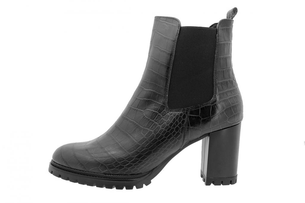 Ankle Boot Black Snake 195432