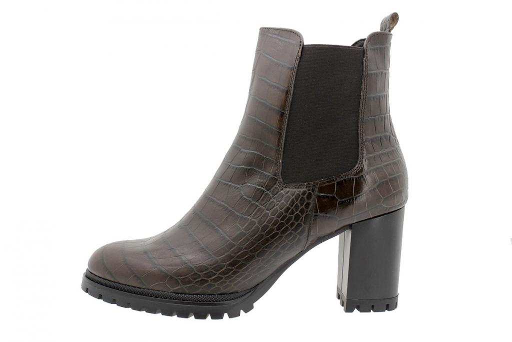 Ankle Boot Brown Snake 195432