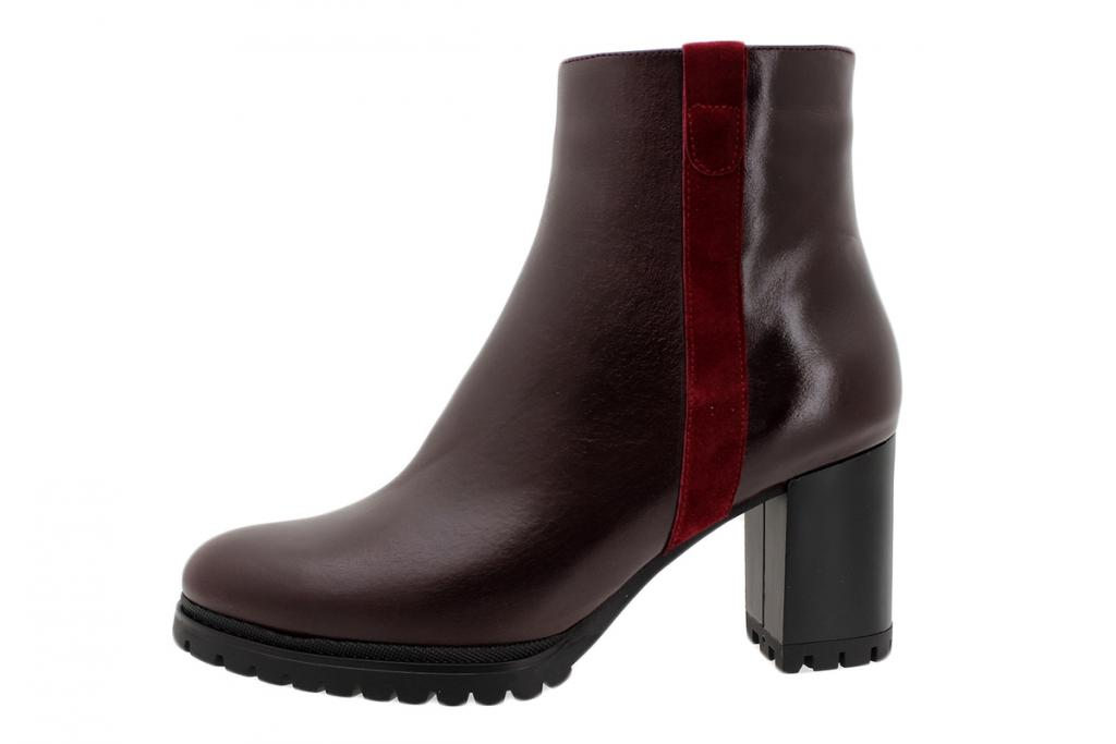 Ankle Boot Bordeaux Leather 195433