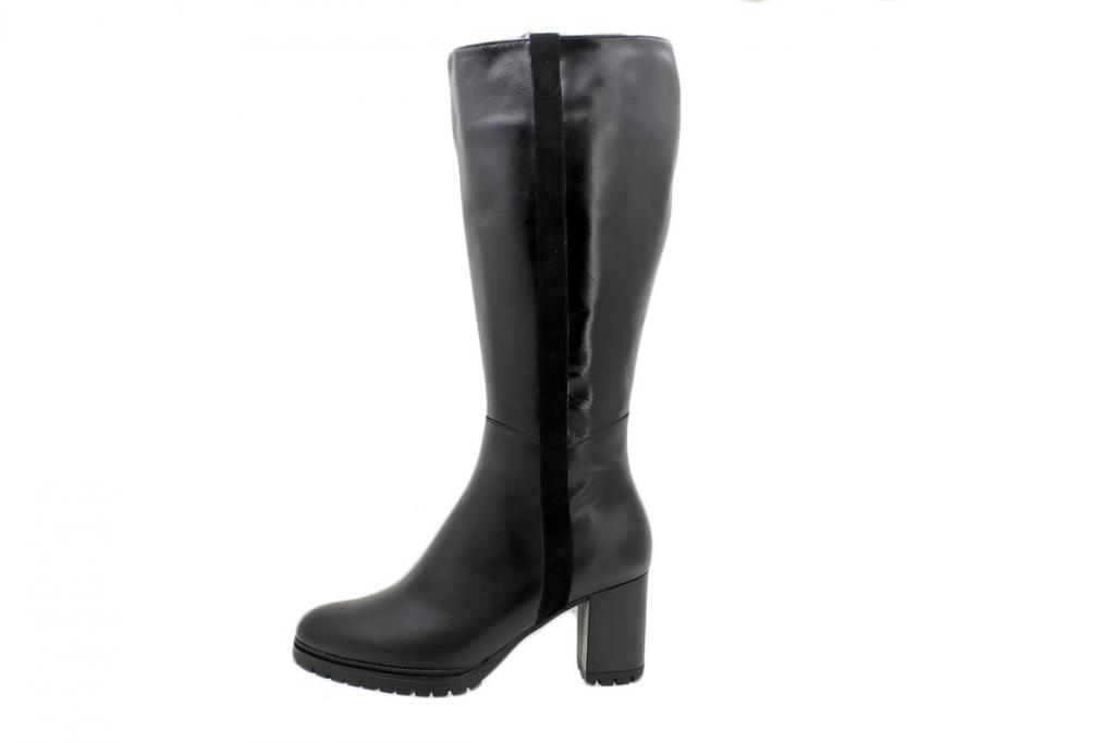 Ankle Boot Black Leather 195437