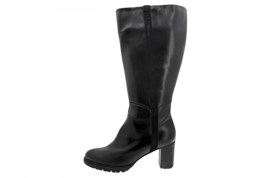 Boot Black Leather 195439 XL
