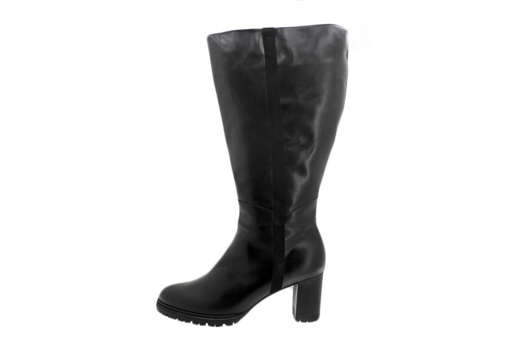 Boot Black Leather 195440 XXL