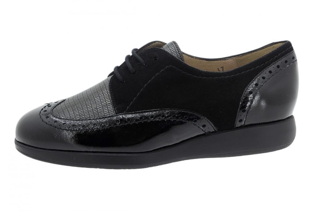 Lace-up Shoe Black Patent 195540