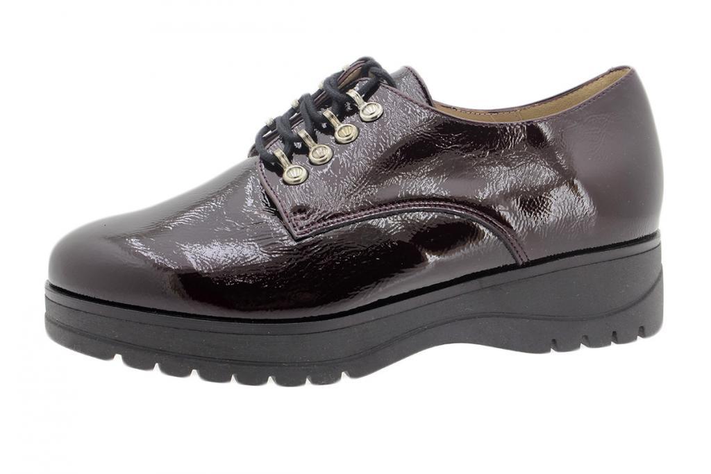 Lace-up Shoe Bordeaux Patent 195676