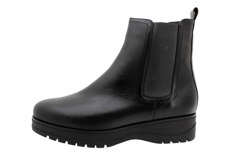 Ankle Boot Black Leather 195696