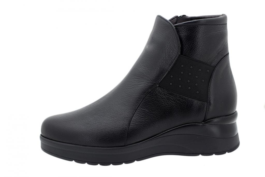 Ankle Boot Black Leather 195743