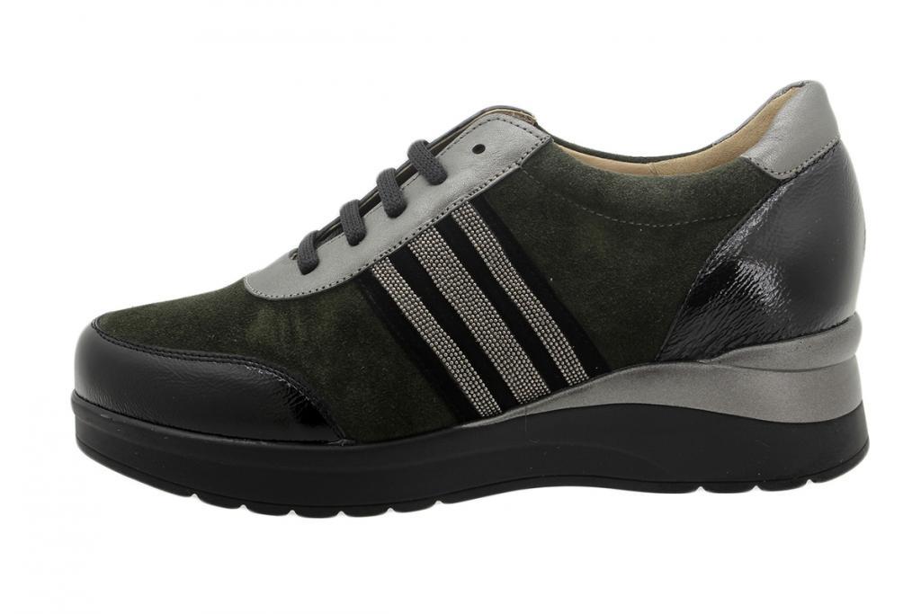 Lace-up Shoe Black Patent 195751
