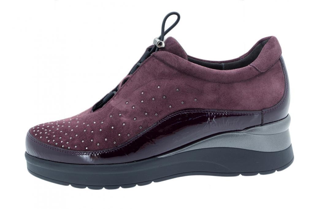 Lace-up Shoe Bordeaux Patent 195754