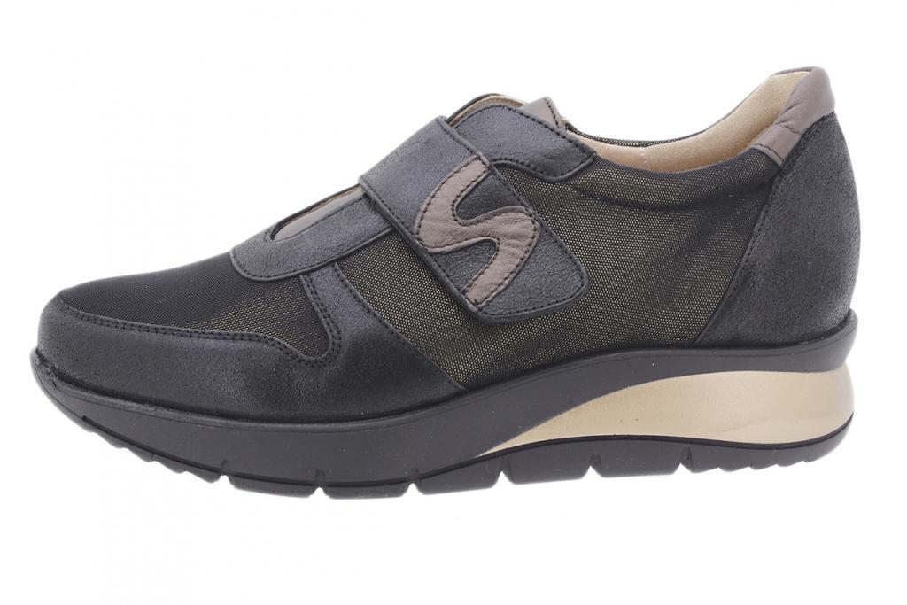 Sneaker Black Metal Suede 195765