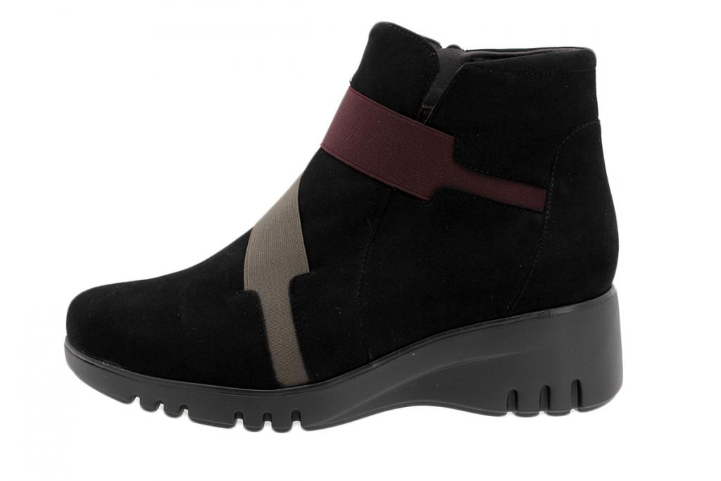 Ankle Boot Black Suede 195902
