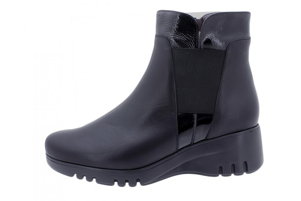 Ankle Boot Black Leather 195905
