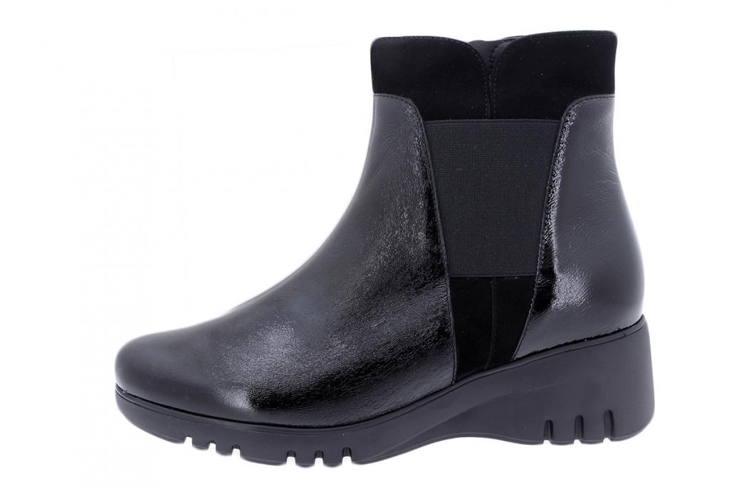 Ankle Boot Black Patent 195905