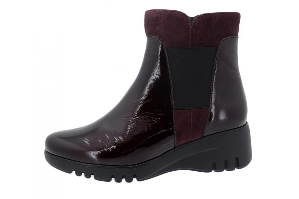 Ankle Boot Bordeaux Patent 195905