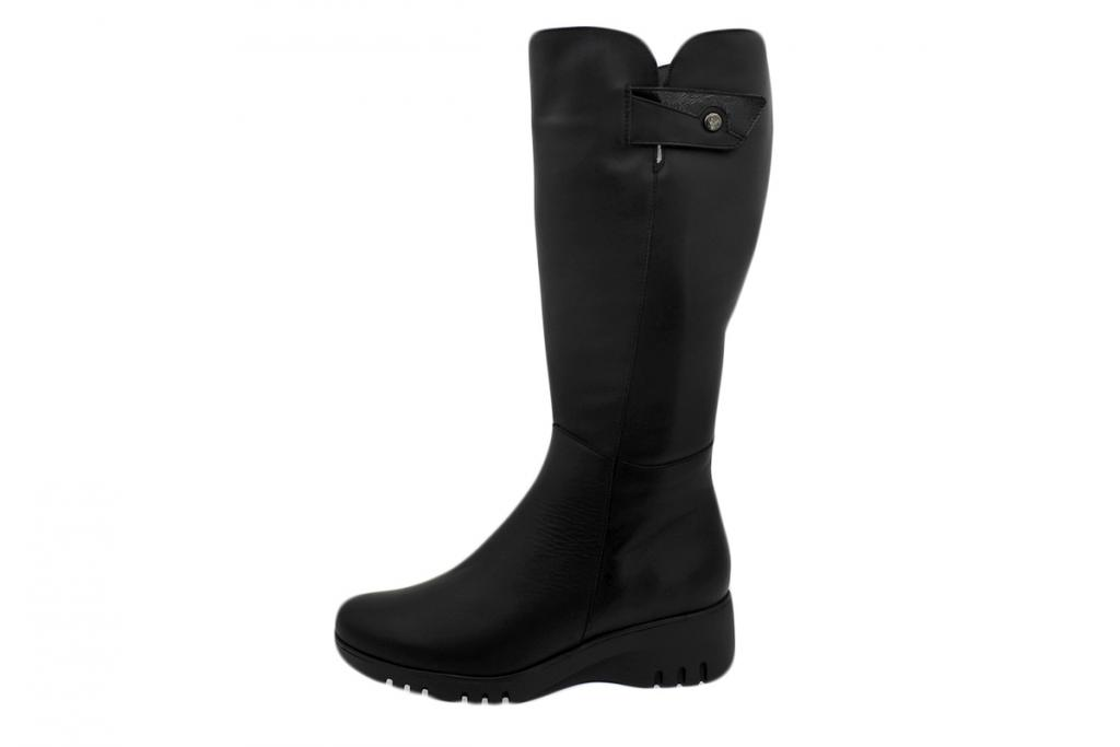 Boot Black Leather 195909