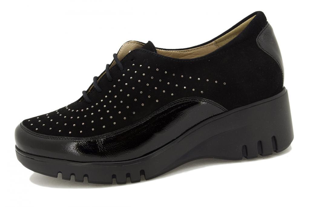 Lace-up shoe Black Patent 195924