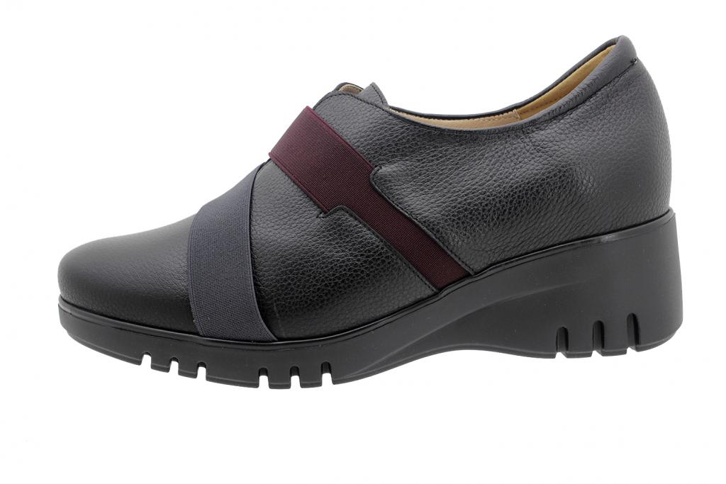 Ankle Boot Shoe Black Leather 195932