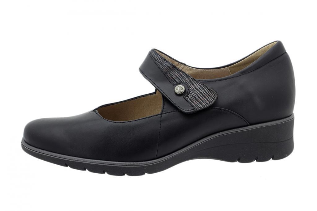 Mary-Jane Black Leather 195953