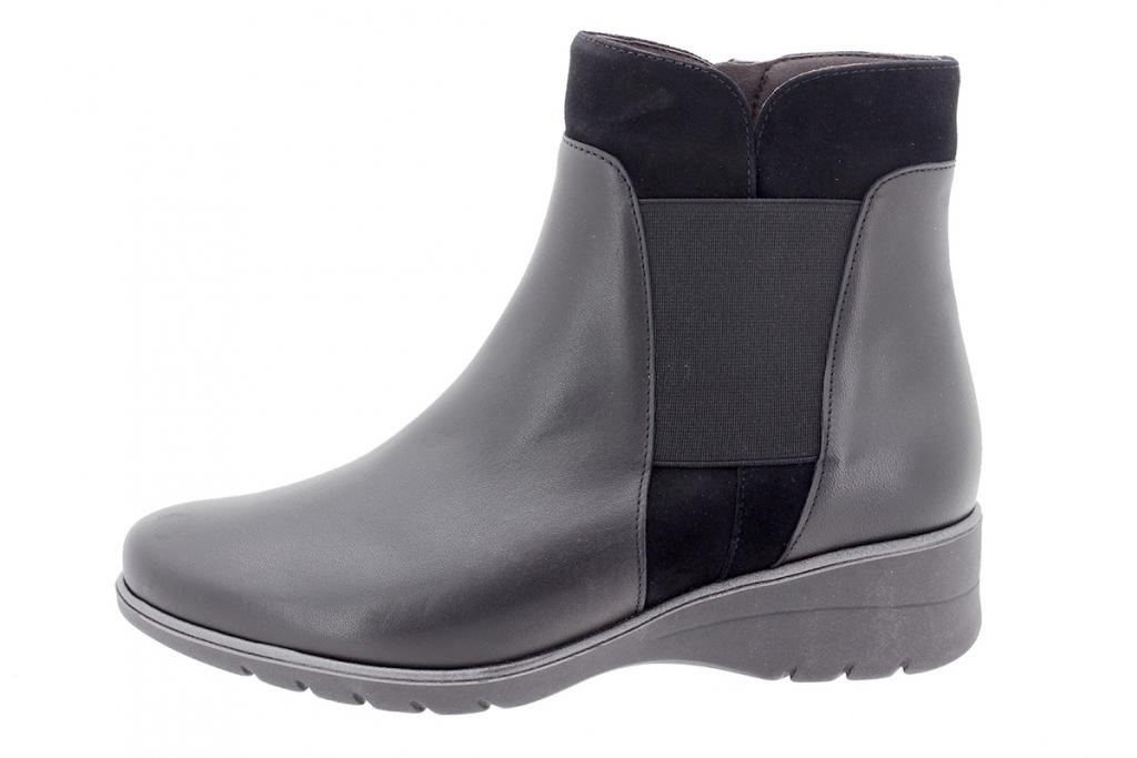 Ankle boot Black Leather 195975