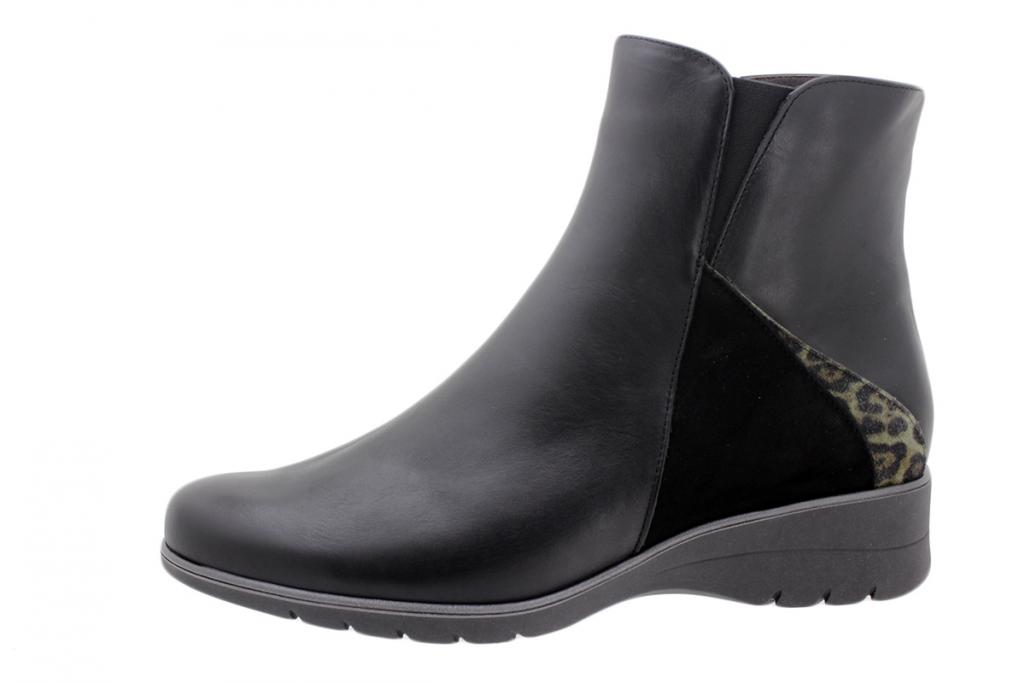 Ankle Boot Black Leather 195977