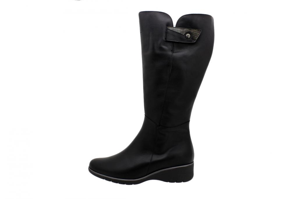 Boot Black Leather 195980 XL