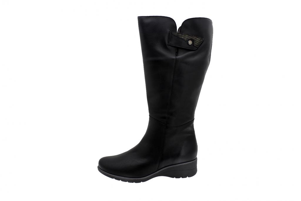 Boot Black Leather 195981 2XL