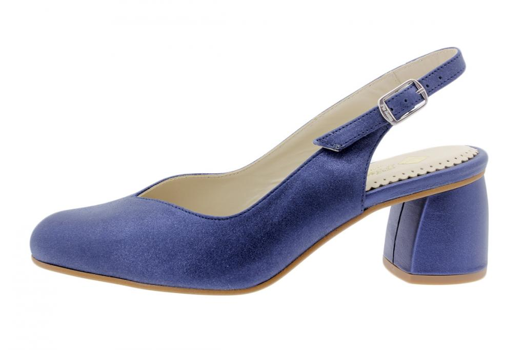Court shoe Metal Suede Blue 200229