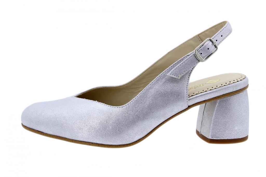Court shoe Metal Suede Pearl 200229