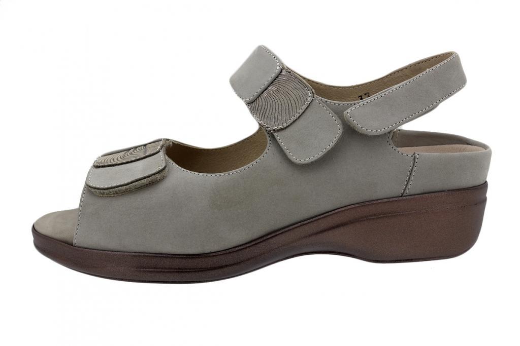 Removable Insole Sandal Mink Nubuck 200405