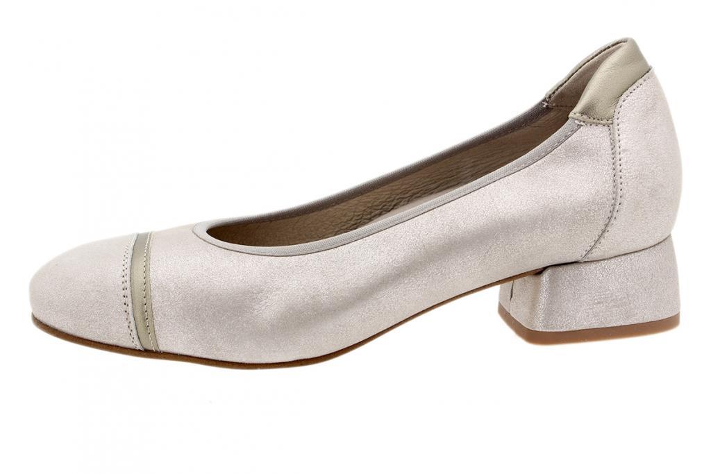 Flat shoe Mink Metal Suede 200533