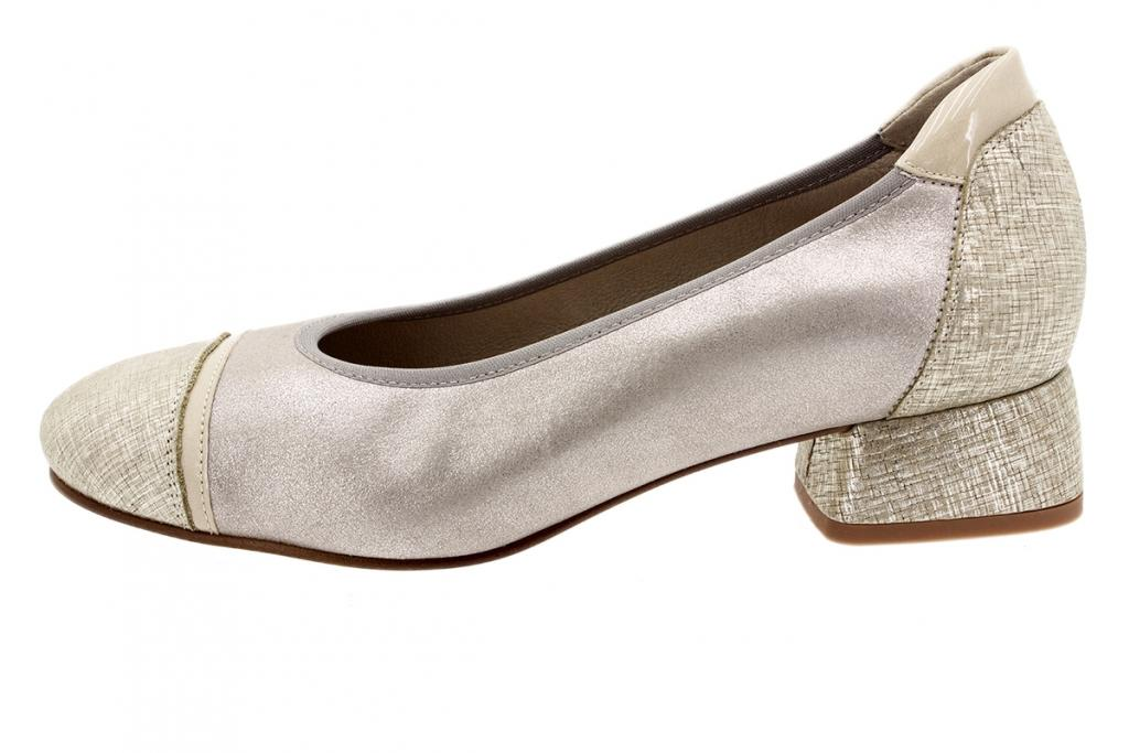 Flat shoe Beige Print 200533