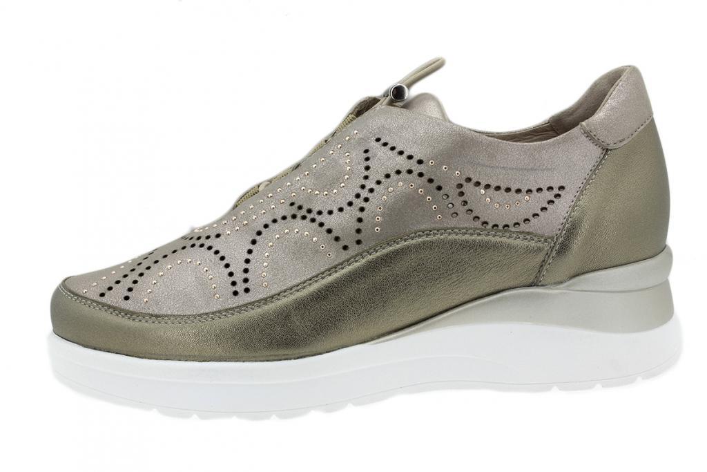 Sneaker Mink Metal 200754