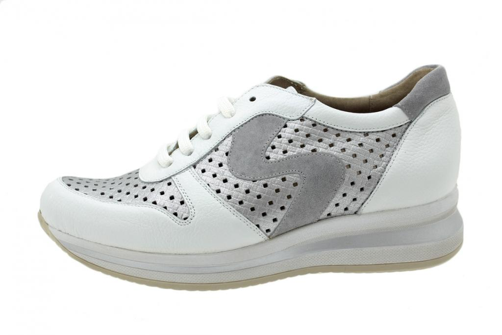Sneaker White Leather 200763