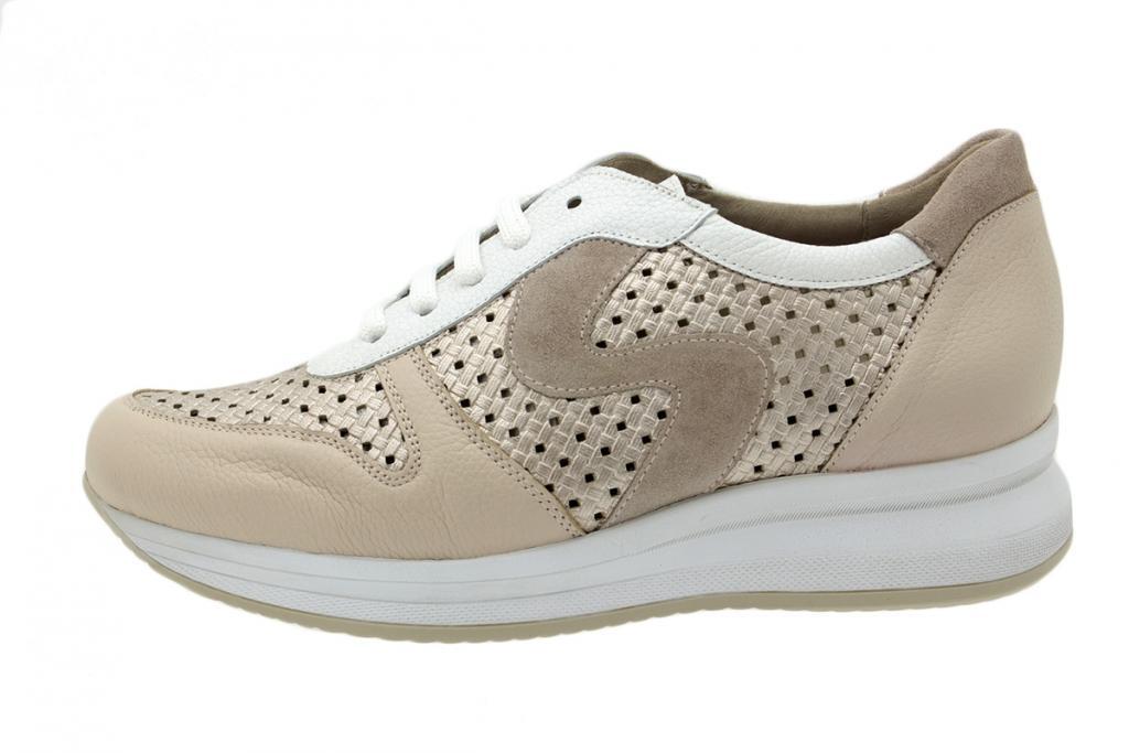 Sneaker Nude Leather 200763