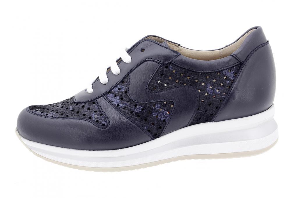 Sneaker Blue Leather 200763