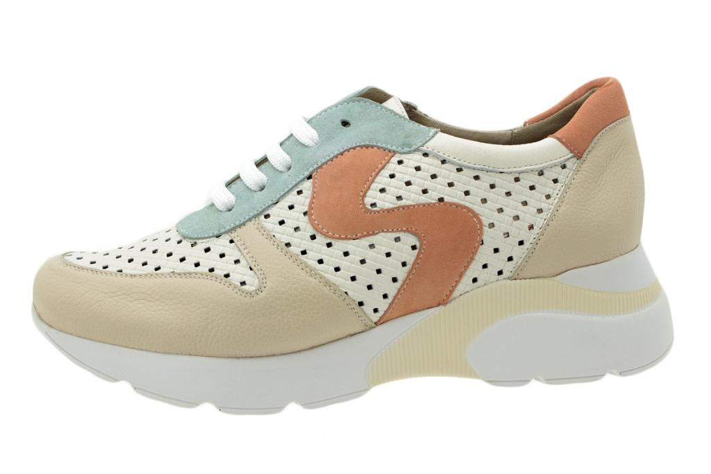 Sneaker Beige Leather 200763