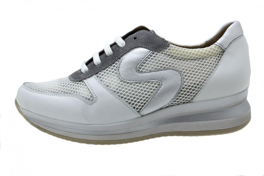 Sneaker White Leather 200766