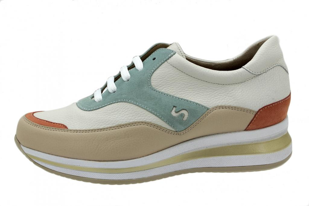 Sneaker Beige Leather 200769
