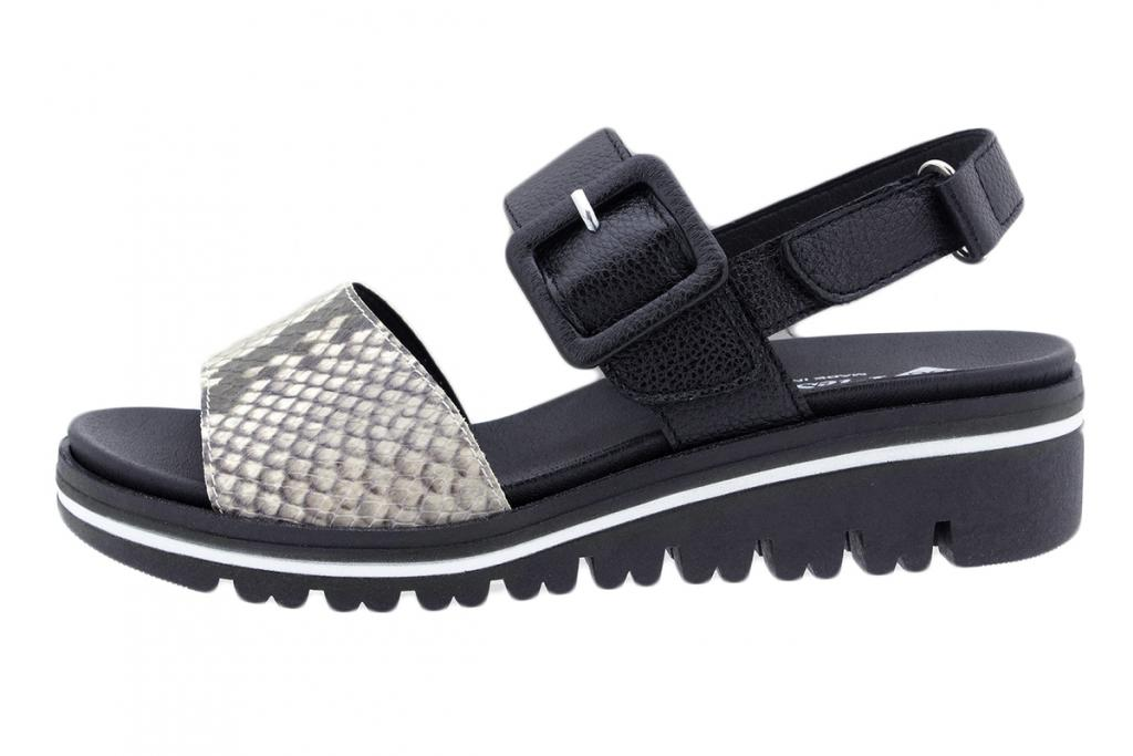 Removable Insole Sandal in Ice Snake 200773
