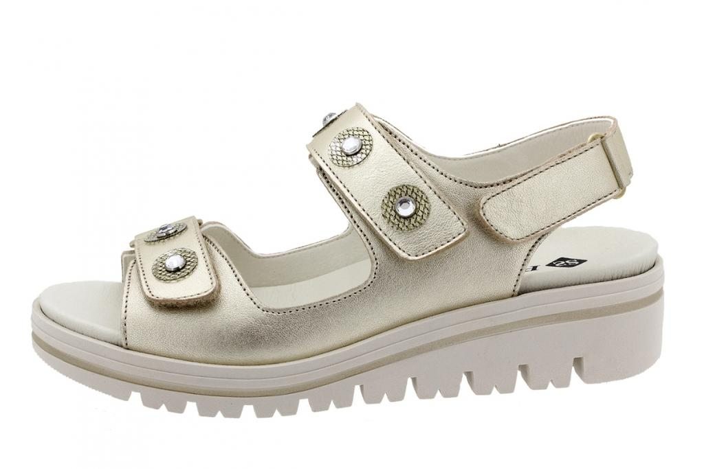Removable Insole Sandal Platinum Metal 200781