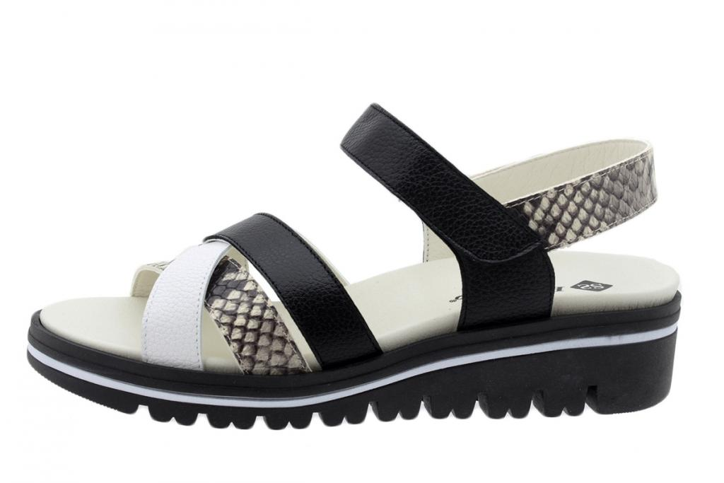 Removable Insole Sandal White-Ice Leather 200784