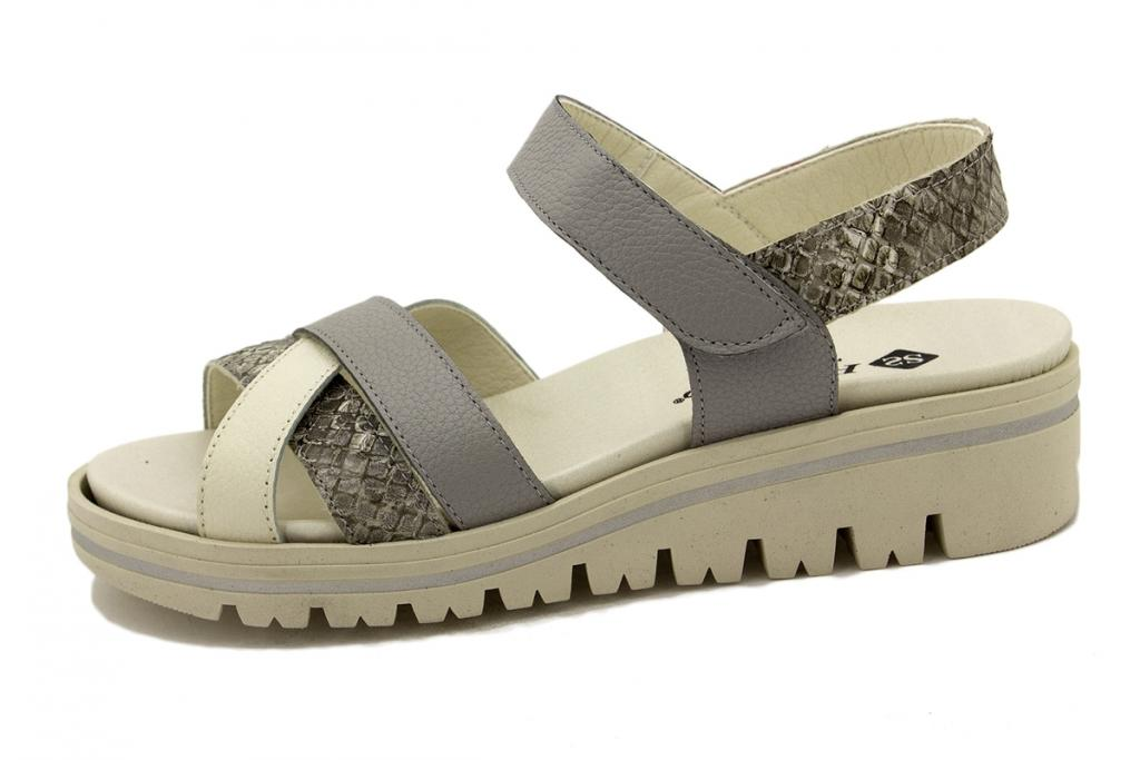 Removable Insole Sandal Ice Leather 200784