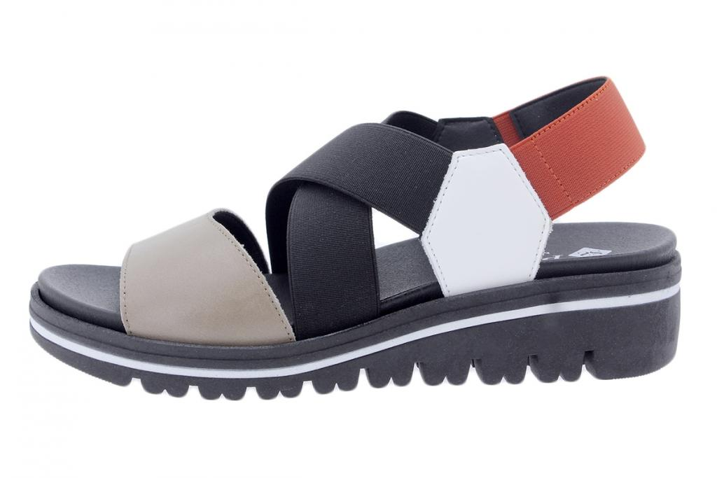 Tan Leather 200877 Removable Insole Sandal