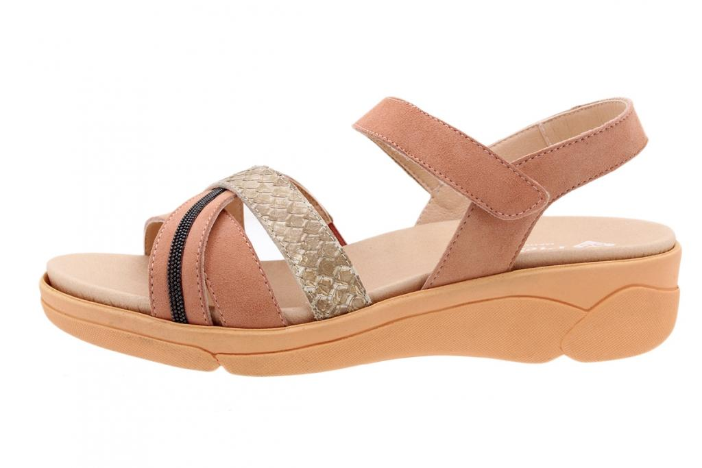 Removable Insole Sandal Coral Suede 200795