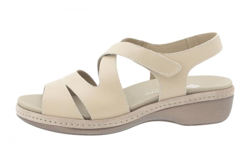 Removable Insole Sandal Nude Leather 200812