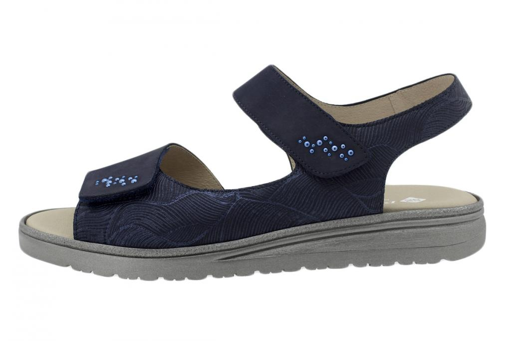 Removable Insole Sandal Nubuck Blue 200818