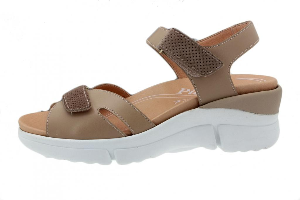 Removable Insole Sandal Leather Nude 200876