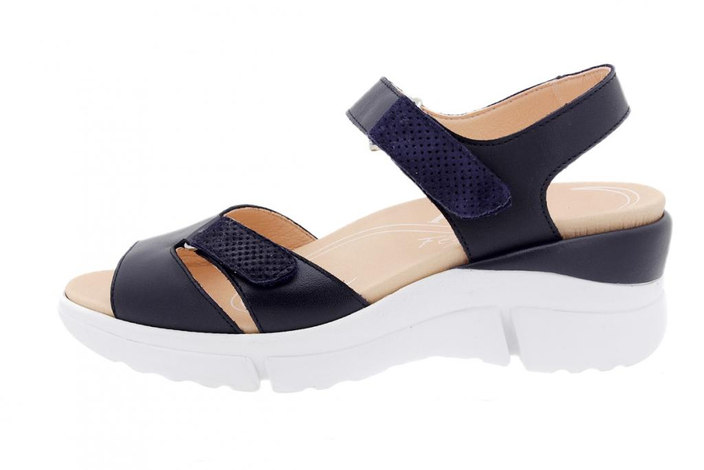 Removable Insole Sandal Blue Leather 200877