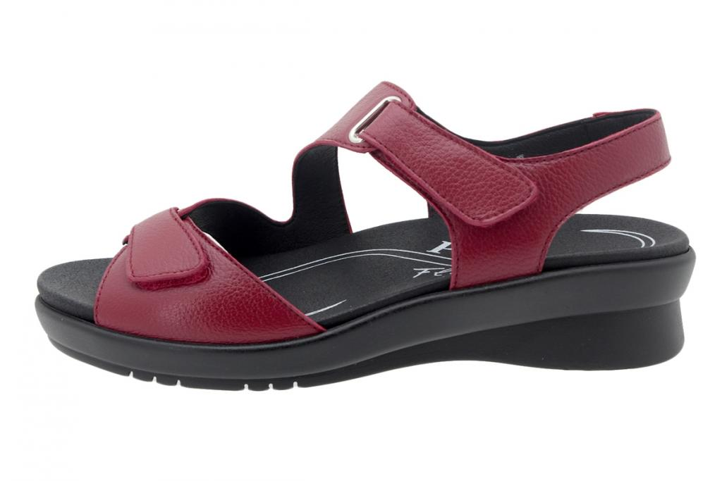 Removable Insole Sandal Red Leather 200891